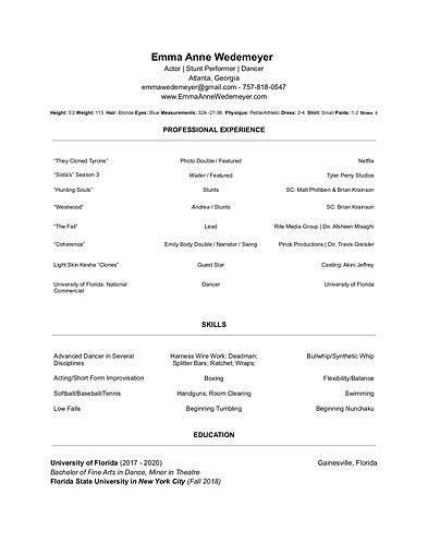 WEDEMEYER | Resume .jpg