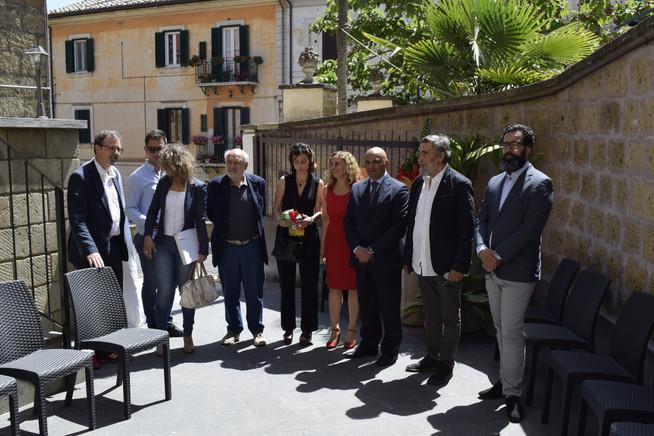Il sindaco ed i suoi assessori