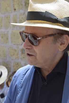L'artista Antonio Passa