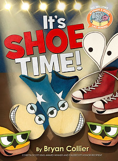 It's Shoe Time! (Elephant & Piggie Like Reading!) by Mo Willems & Bryan Collier