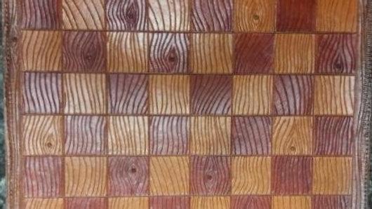 """Wood Grain"" Chess Board"