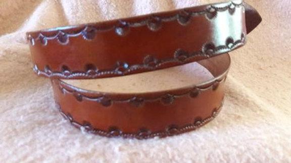 Classic Bordered Belt