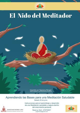 AGENDA: TALLER DE MEDITACIÓN SALUDABLE Y CONSCIENTE