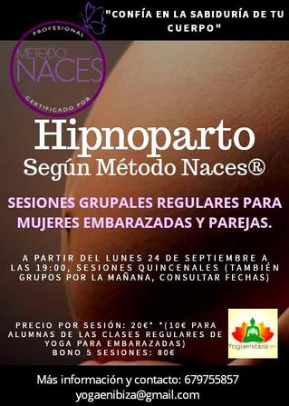 Agenda: HIPNOPARTO Según el Método Naces✅
