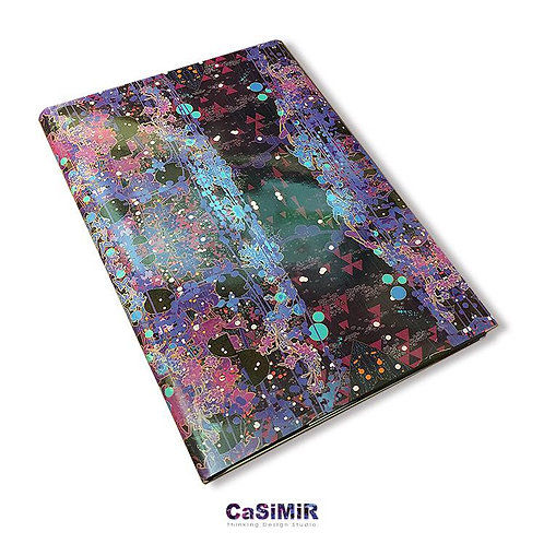 Casimir デザインノートブック(ムラサキ)