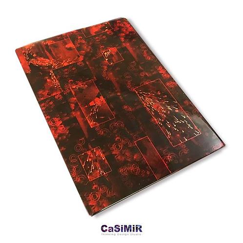 Casimir デザインノートブック(赤)