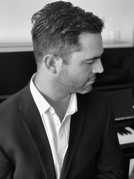 Pianist Derek Fairholm