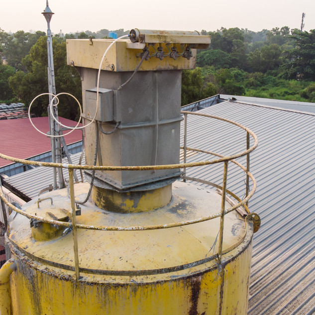 Inspect Silo Filter Leaking
