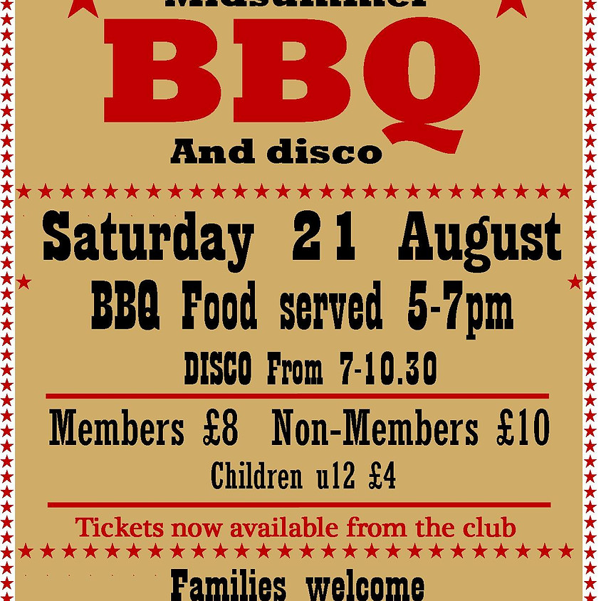 Summer Barbecue and Disco