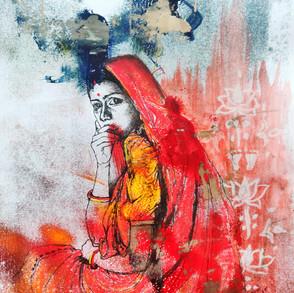 Indian village bride,