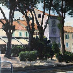 Chez Hervé by The Canal du Midi, Ann Henson