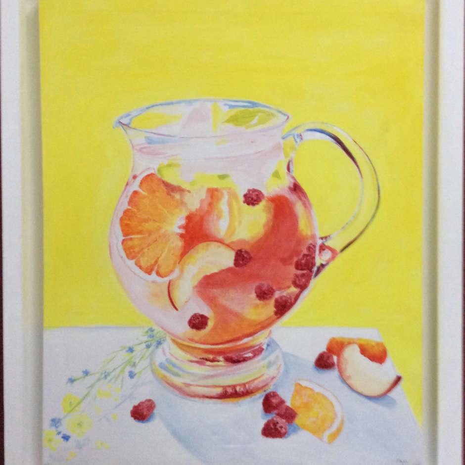 Summer Fruits by Pam Gravett