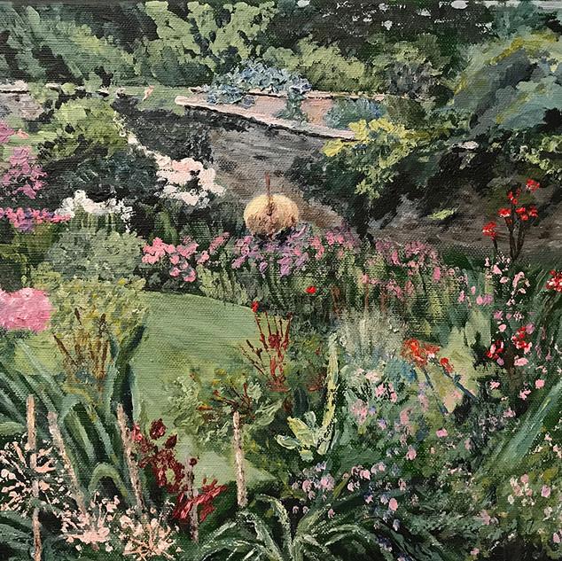 The Rose Garden Hartland Abbey.