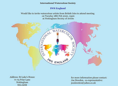 INTERNATIONAL WATERCOLOUR SOCIETY