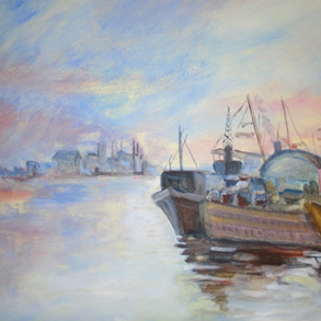 'Thames River Early Morning' - Interacti