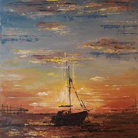 Southend Sunset, Anne Seaman