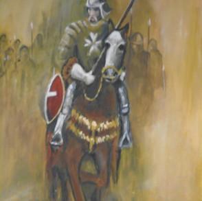 'Knight of Malta' - Acrylic.JPG