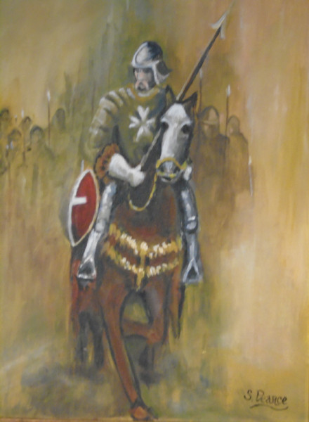 'Knight of Malta' - Acrylic.JPG