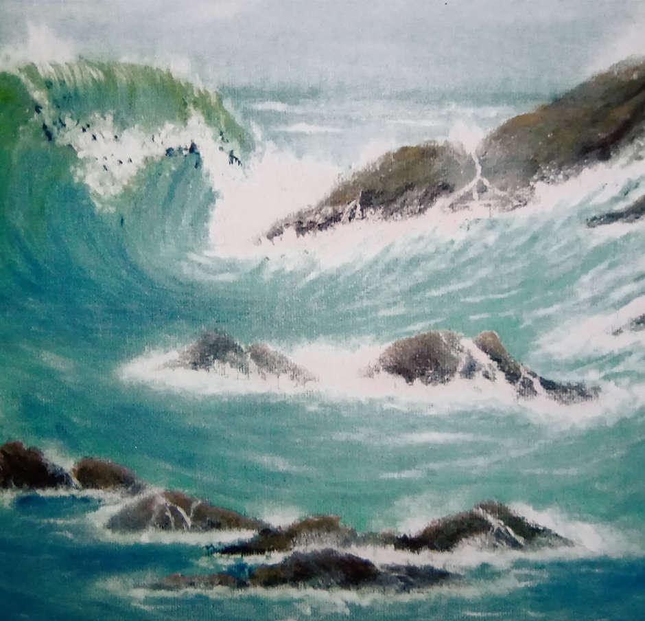 Cornish Coast. Diane Wiseman