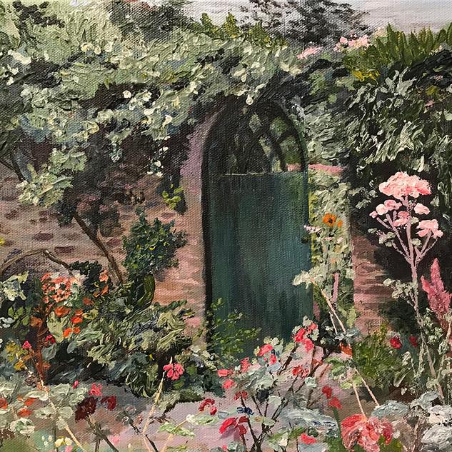 Gate Way to The Vetetable Garden Hart
