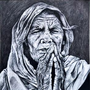 A silent prayer for hope,
