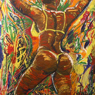 CARNIVAL-2003-Acrylicon-stretchedcanvass
