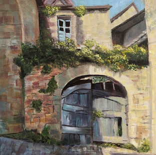 Courtyard in Castenaud