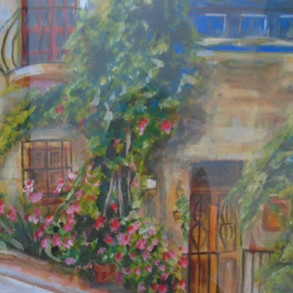'Street in Malta' - Acrylic.JPG