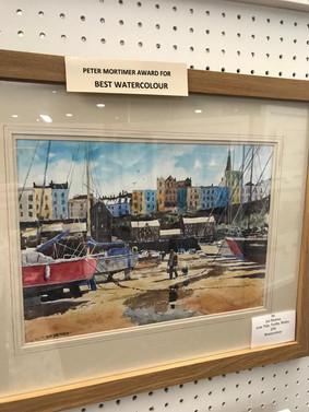 Peter Mortimer Award. best Watercolour