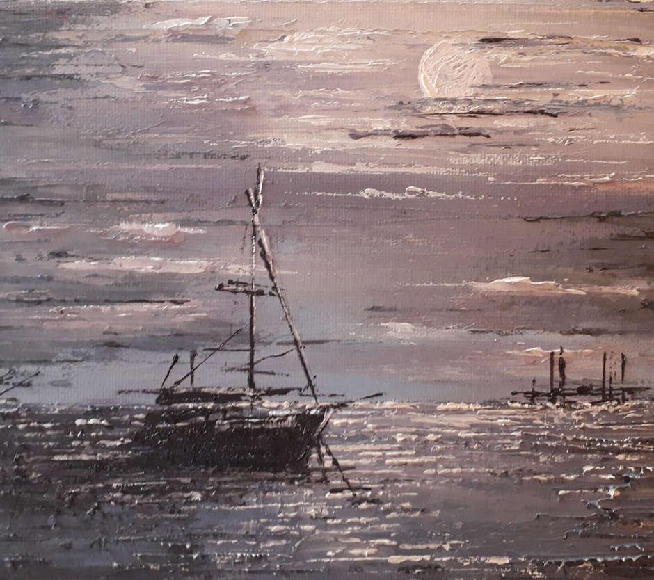 Southend Moon,  Anne Seaman