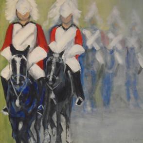 'Guards on Parade' - Acrylic.JPG