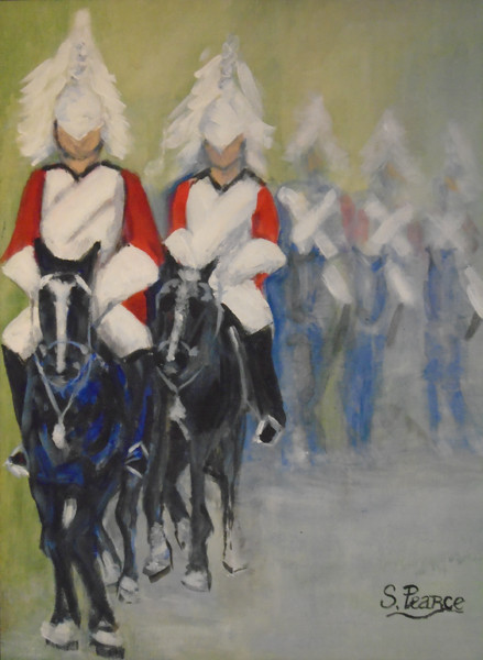 'Guards on Parade' - Acrylic.JPG