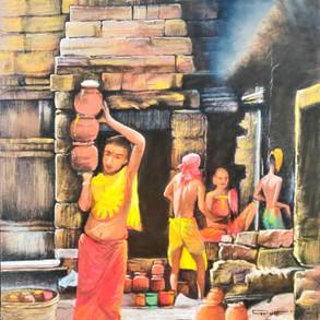 Mahaprasad-a sacred offering,