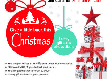 The Southend Art Club received over £200 last year from the Essex Lottery.