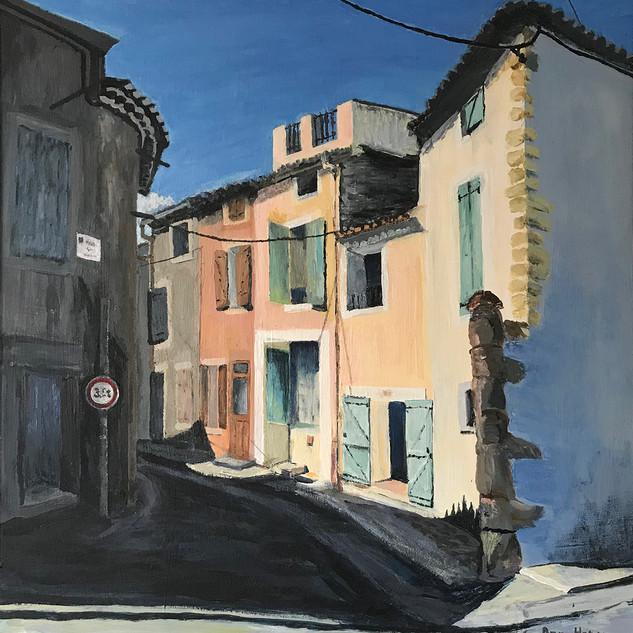 Rue de l'Eglise Salleles d'Aude.