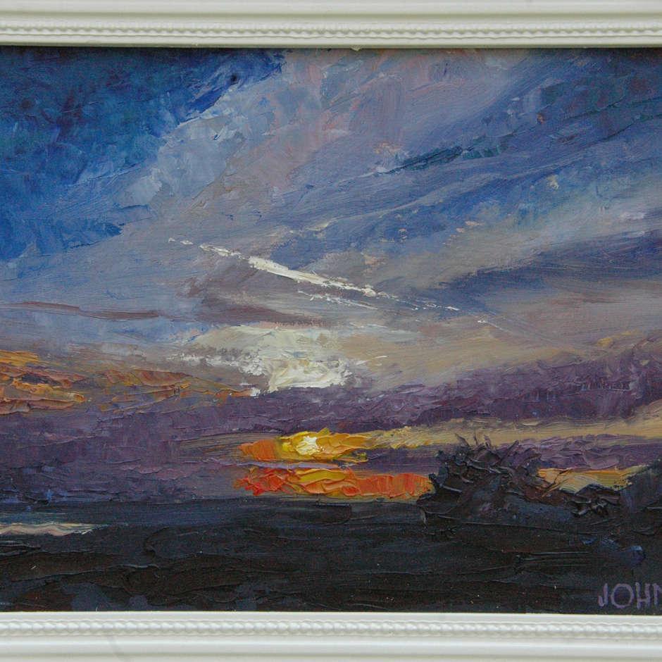 Tilbury Sunset, John Thompson