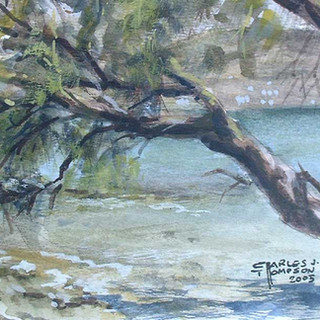 """Solitude at Kolimbithres, Paros"""