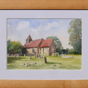 All Saints Church, Sutton, Nr. Rochford, Essex. G R Green
