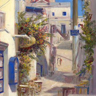 """Panagia Street, Naoussa"""