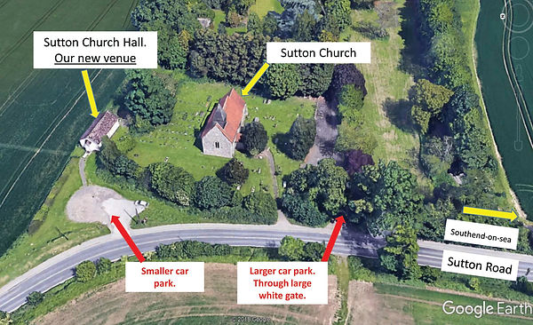 Google Earth map of Sutton Hall - PDF co