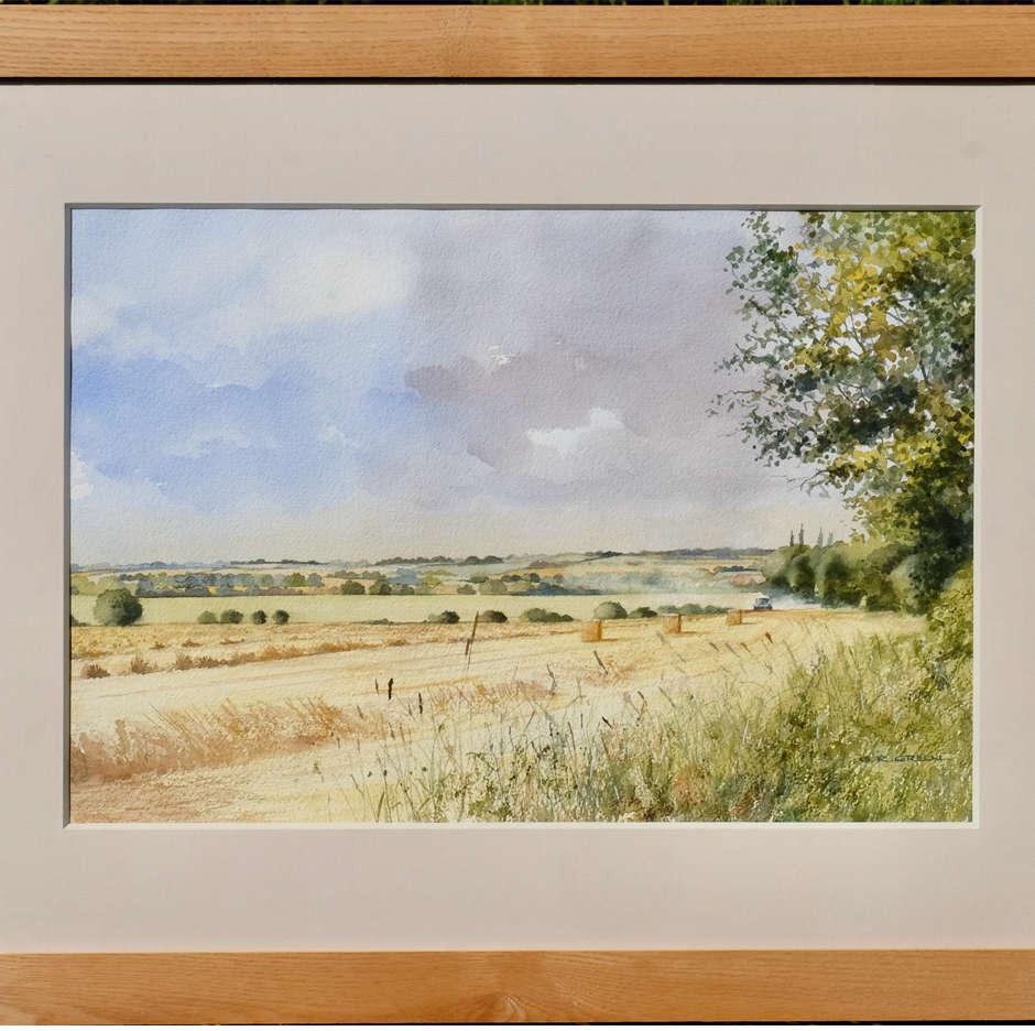 Harvest Time, Hullbridge, Essex. G R Green