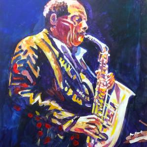 David Sanborn Jazz alto sax player.