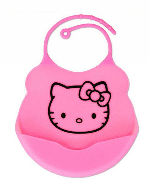 Hello Kitty Silicone Bib