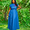 Thumbnail: Plus Size Denim Tie Waist Maxi Dress