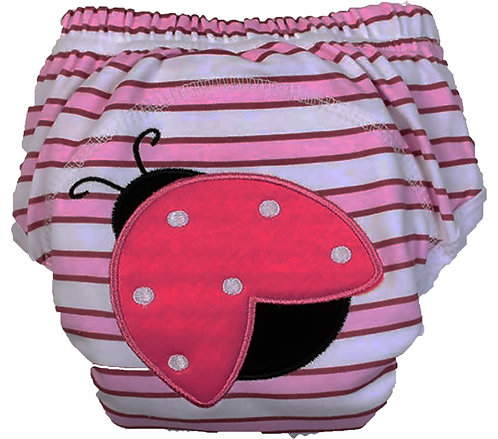 Lady Bug Training Pants/Diaper Cover