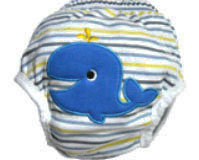 Whale Training Pants/Diaper Cover