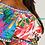 Thumbnail: Plus Size Multi-Colored Off The Shoulder Long Floral Dress