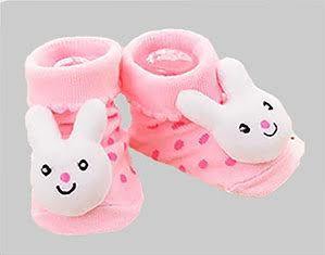 Pink Bunny Socks
