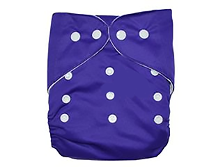 PURPLE AIO DIAPER