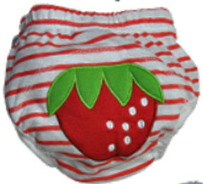 Strawberry Training Pants/Diaper Cover